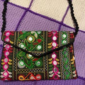 Handmade, over-the-shoulder Bag